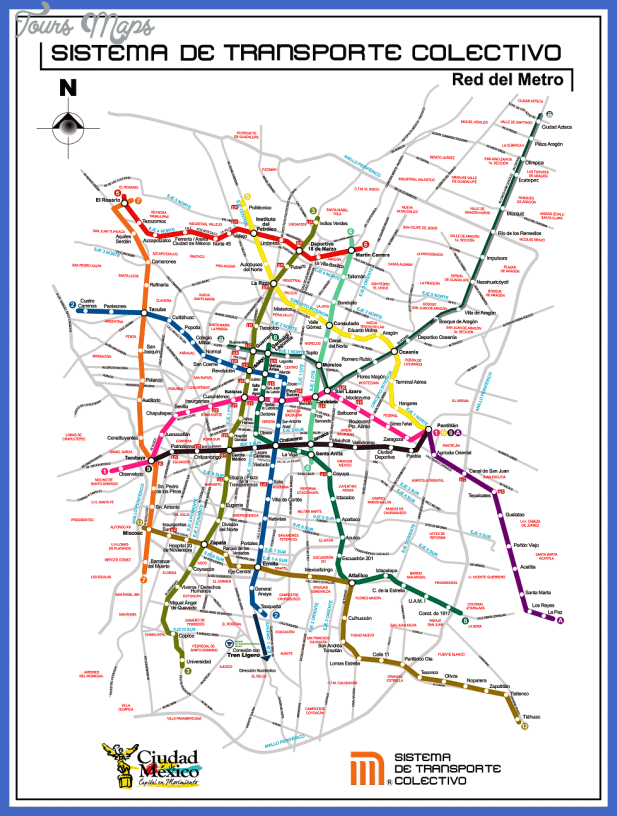 mexico city metro map Mexico City Metro Map