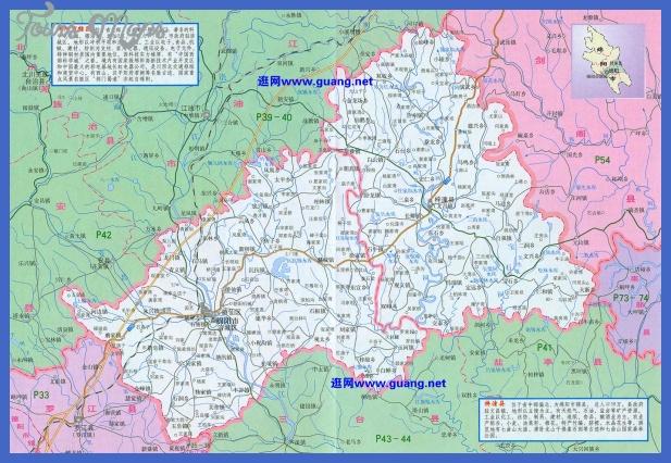 mianyang map  5 Mianyang Map