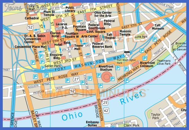 mimcincinnaticsdet1 Cincinnati Map