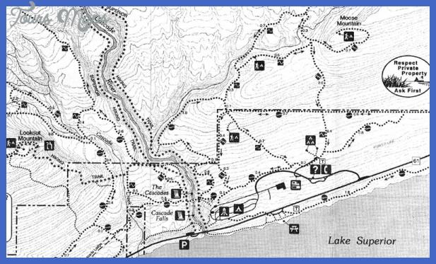 moose lake state park map 15 Moose Lake State Park Map