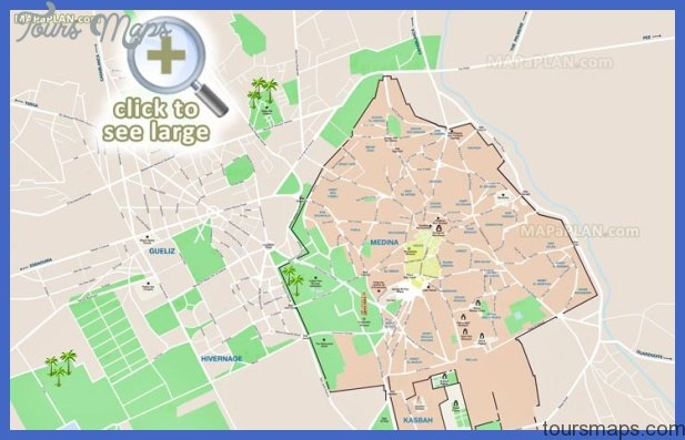 Morocco Map Tourist Attractions ToursMapsCom – Morocco Tourist Attractions Map