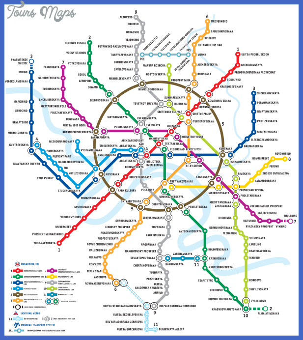 moscow metro Houston Subway Map