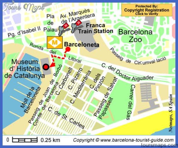 museu d historia de catalunya Barcelona Map Tourist Attractions