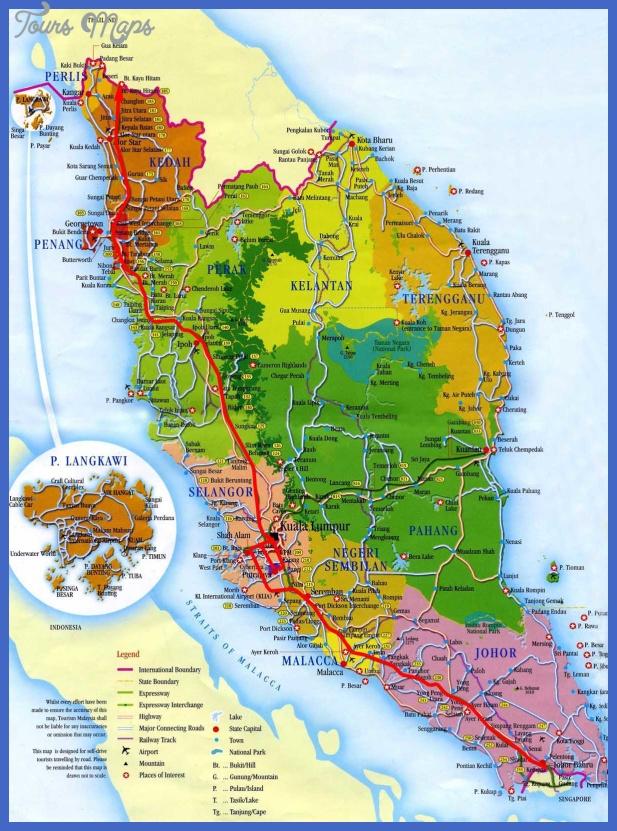 my map2 Malaysia Map
