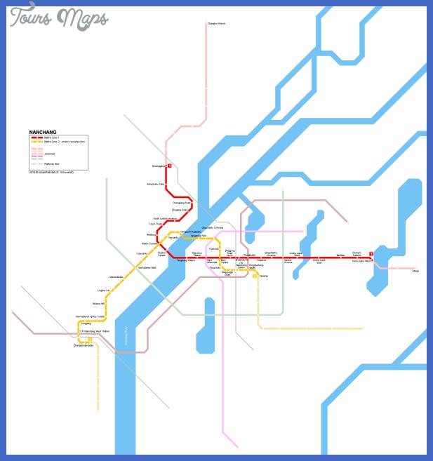 nanchong subway map  2 Nanchong Subway Map