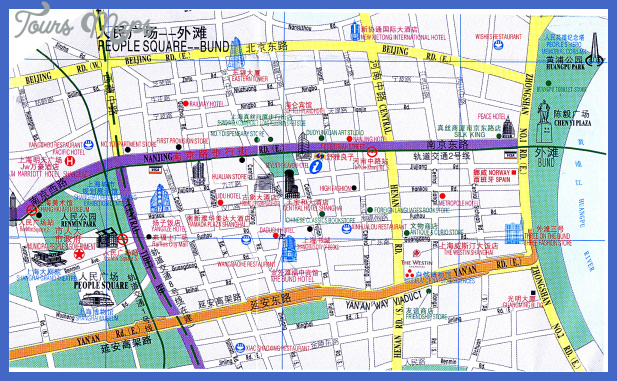 nanjing map tourist attractions  7 Nanjing Map Tourist Attractions
