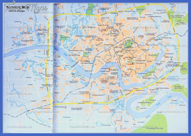 nanning map tourist attractions  2 Nanning Map Tourist Attractions