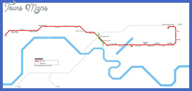 nanning metro map  5 Nanning Metro Map
