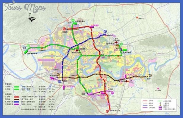 nanning metro map  7 Nanning Metro Map