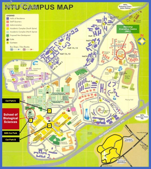 nanyang map  5 Nanyang Map