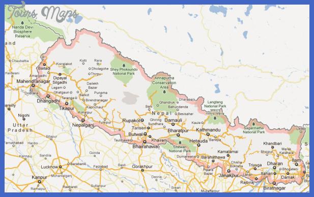 nepal map Nepal Metro Map