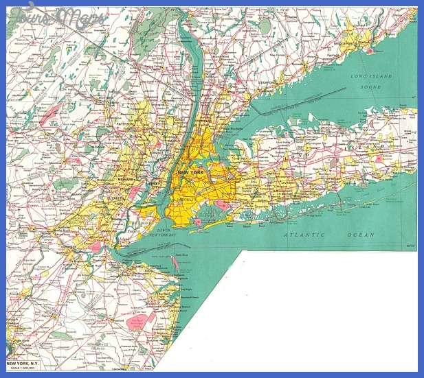 new york map  2 New York Map