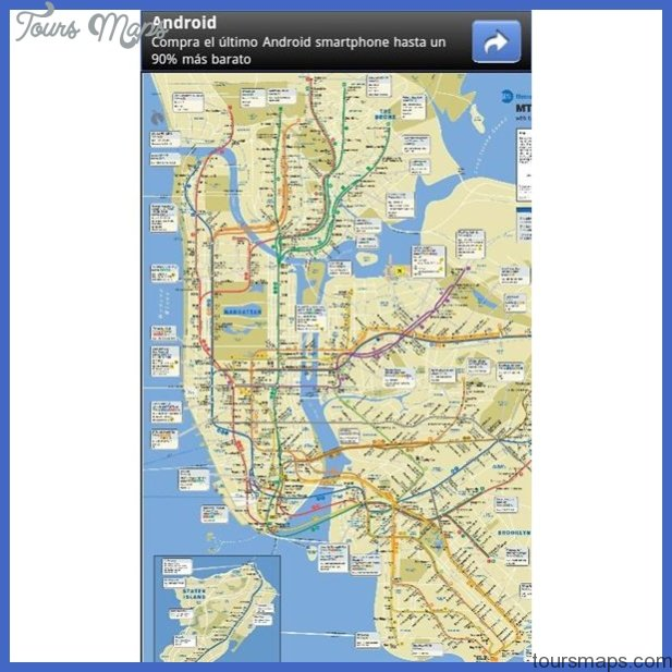 new york map for android  4 New York map for android