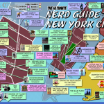 new york map for tourists  3 150x150 New York map for tourists