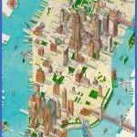 new york map for tourists  5 150x150 New York map for tourists