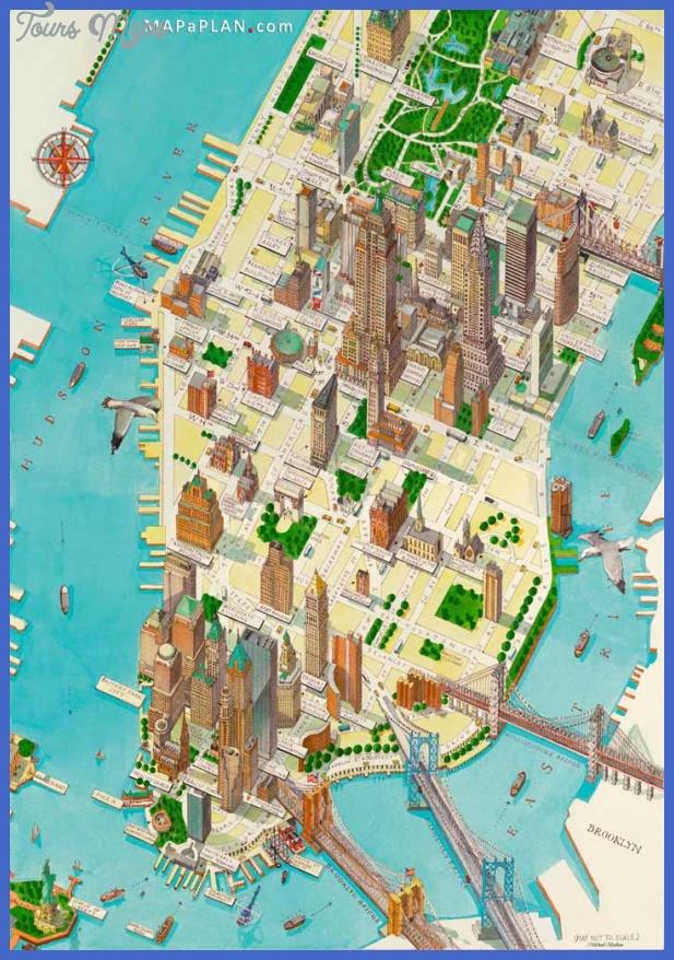 new york map for tourists  5 New York map for tourists