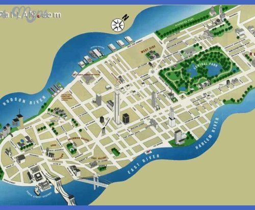 new york city map pdf Archives ToursMapsCom – New York City Tourist Map PDF