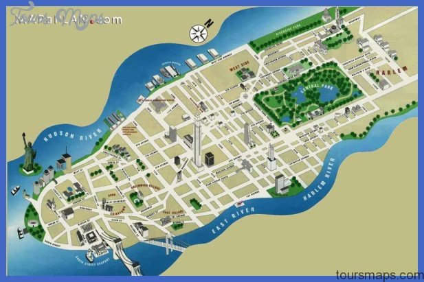 New York Map Tourist Attractions - ToursMaps.com ®