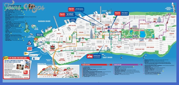 New York Map Tourist Attractions ToursMapsCom – Minnesota Tourist Attractions Map