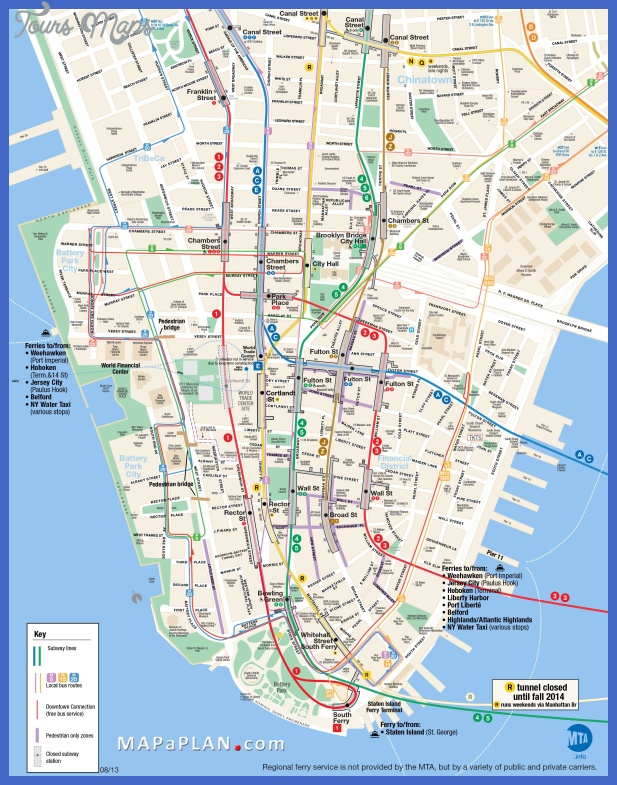 New York Map Tourist Attractions ToursMapsCom – Map Of New York Tourist Attractions
