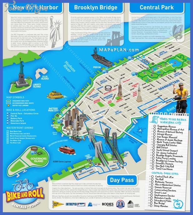 new york map tourist attractions  7 New York Map Tourist Attractions