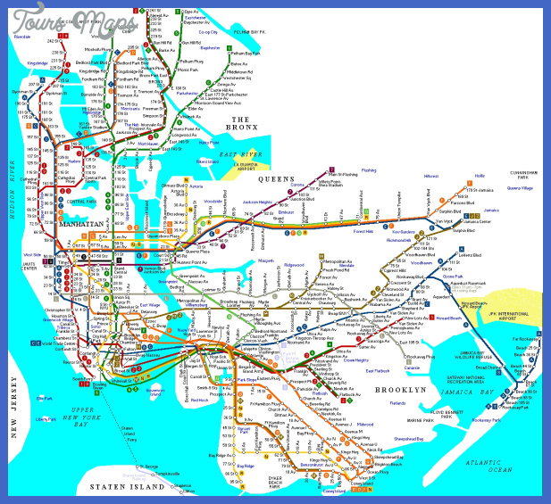 new york metro map  5 New York Metro Map