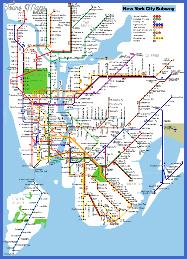 new york metro map  6 New York Metro Map