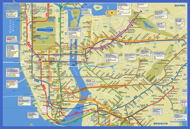new york metro map  7 New York Metro Map