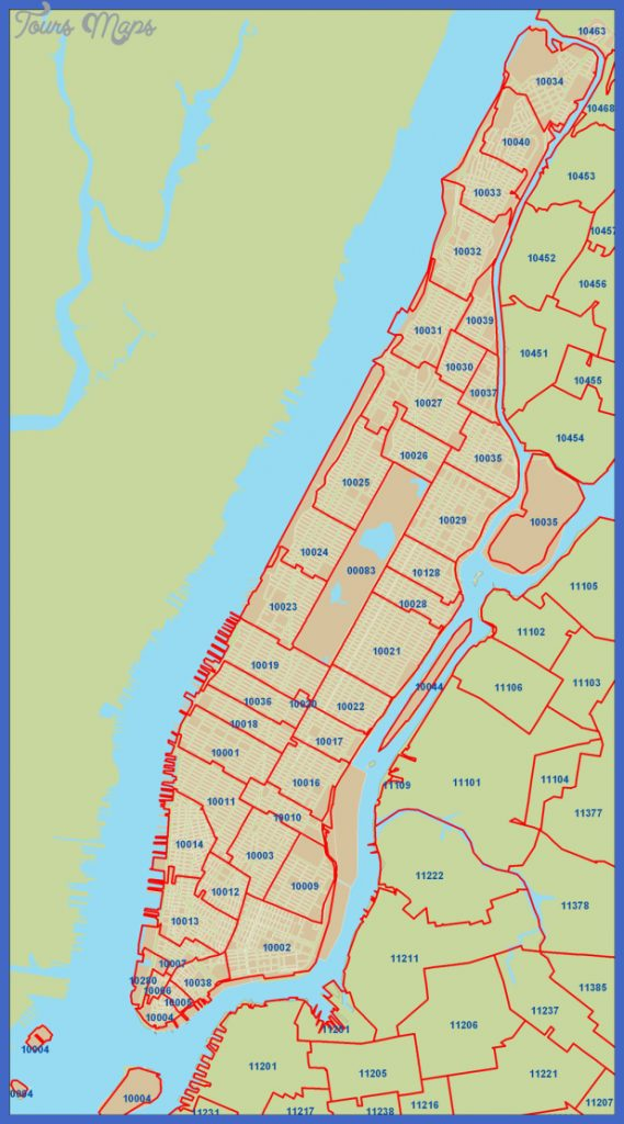 New York Zip Code Map  Map  Travel  Holiday  Vacations
