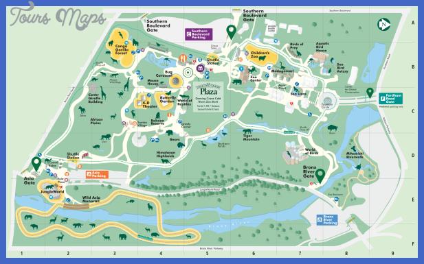 New York zoo map - ToursMaps.com ® Henry Doorly Zoo Map on kansas city zoo, dallas texas zoo, omaha zoo,