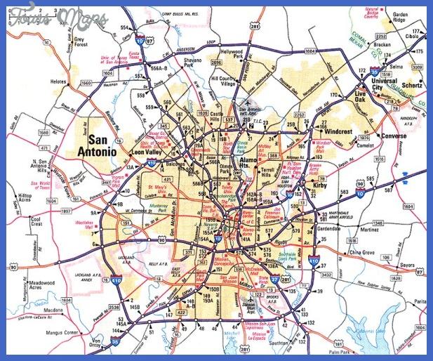 newmapofsanantonio Laredo Metro Map