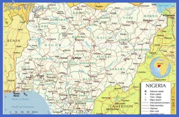 nigeria map 620x400 Nigeria Metro Map