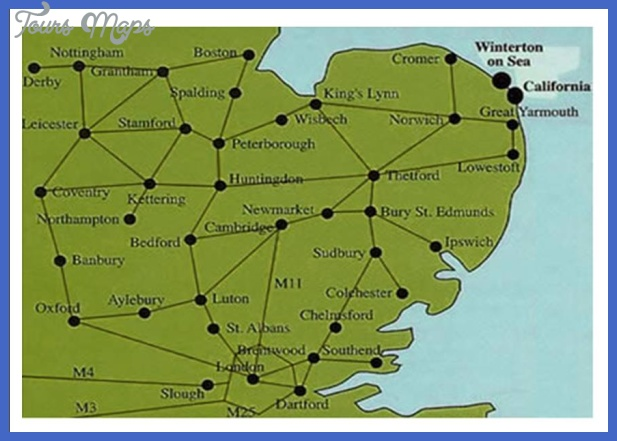 norfolk map tourist attractions  22 Norfolk Map Tourist Attractions