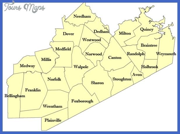 norfolk county map Norfolk Metro Map