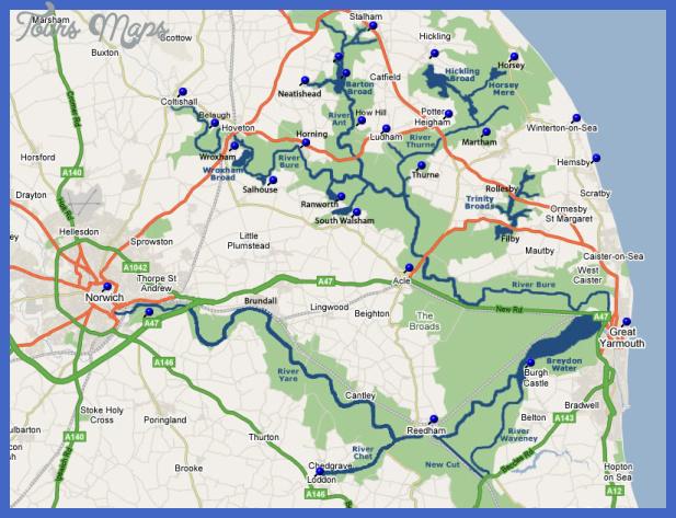 norfolkbroads Norfolk Metro Map
