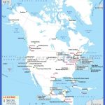 north america travel map 2 150x150 Colombia Map Tourist Attractions
