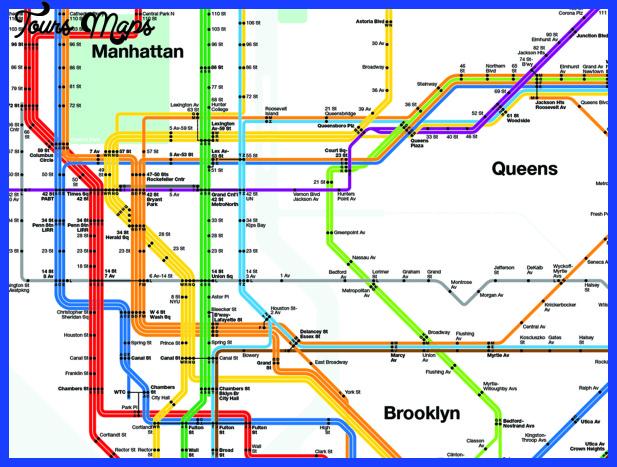 nycmapdetail2 Detroit Subway Map