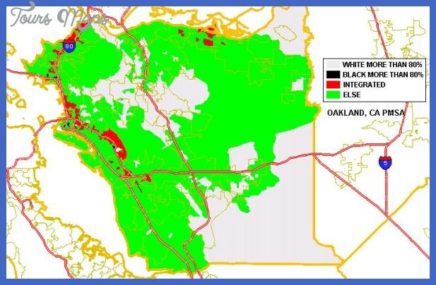 oakland metro map  6 Oakland Metro Map