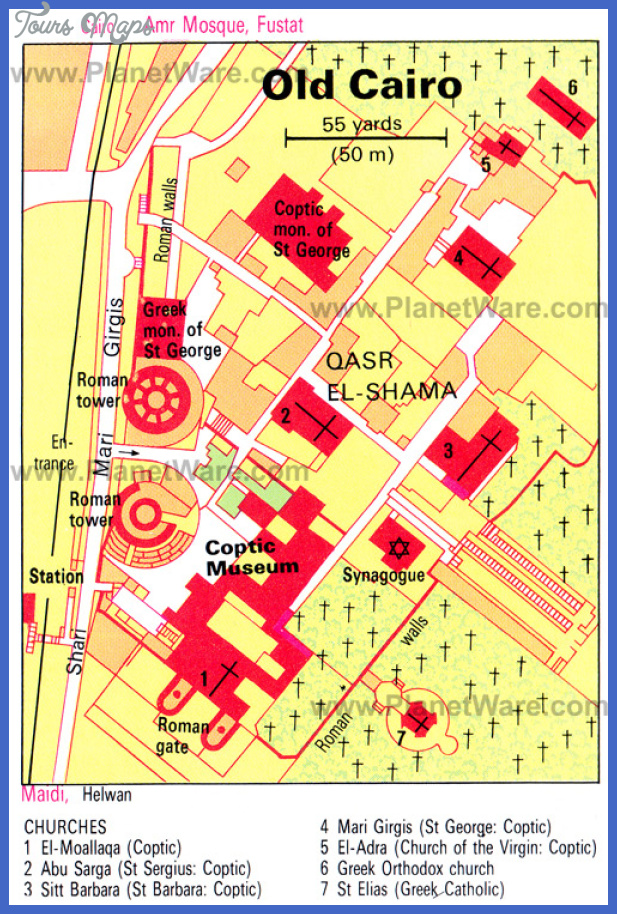 old cairo map Cairo Map Tourist Attractions
