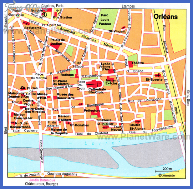 orleans map New Orleans Map Tourist Attractions