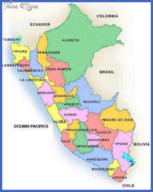 peru map Peru Subway Map