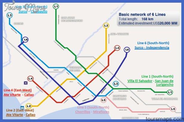 peru subway map  0 Peru Subway Map