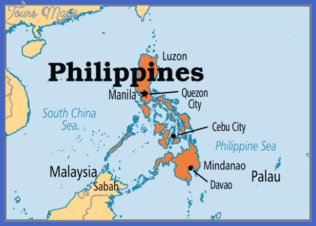 philippines map  3 Philippines Map