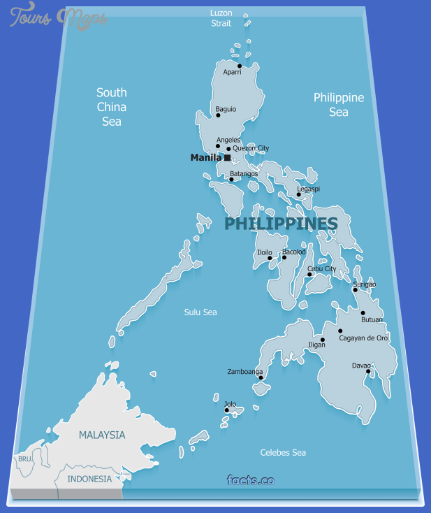 philippinesphysicalmap Philippines Map
