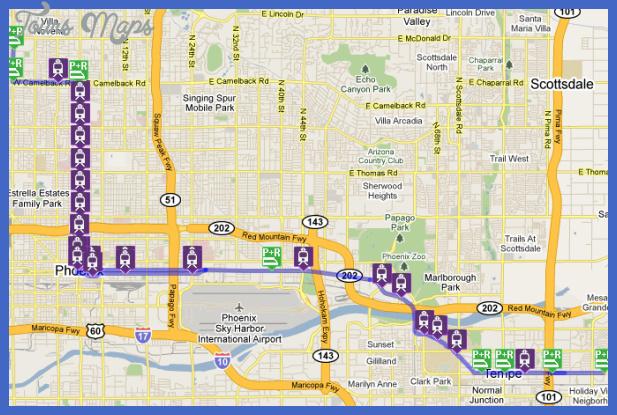 Phoenix Metro Map  Map  Travel  Holiday  Vacations