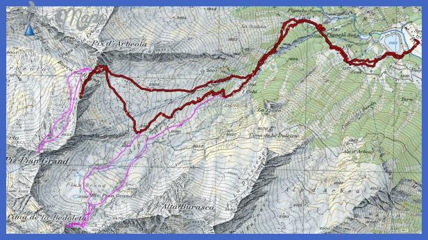 piansangiacomo map San Bernardino Metro Map