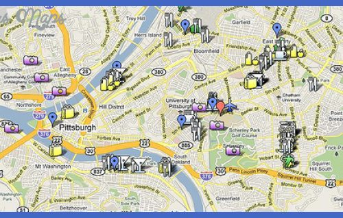 map of pittsburgh pa and surrounding areas Archives ToursMapsCom – Pennsylvania Tourist Attractions Map
