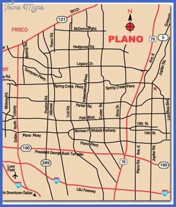 plano city map mediumthumb Plano Map
