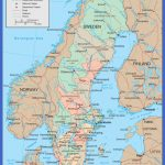 political and administrative map of sweden 150x150 Sweden Map Tourist Attractions