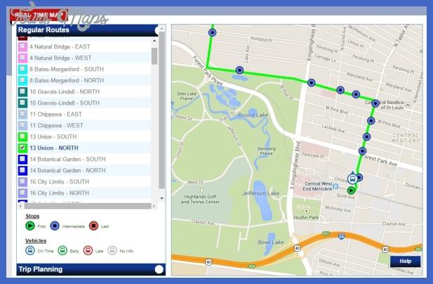 realtimemap Laredo Metro Map